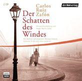 Der Schatten des Windes, 2 Audio-CDs