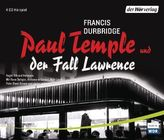 Paul Temple und der Fall Lawrence, 4 Audio-CDs