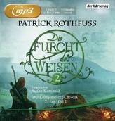 Die Furcht des Weisen, 3 MP3-CDs. Tl.2