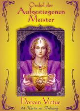 Orakel der Aufgestiegenen Meister, Orakelkarten m. Handbuch