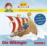 Pixi Wissen - Die Wikinger, 1 Audio-CD