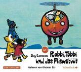 Robbi, Tobbi und das Fliewatüüt - Von Tütermoor zum geringelten Leuchtturm, 2 Audio-CDs