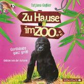 Zu Hause im Zoo - Gorillababy ganz groß, 2 Audio-CDs