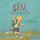 Ben, Schule, Schildkröten und weitere Abenteuer, Audio-CD