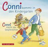 Conni kommt in den Kindergarten / Conni macht das Seepferdchen, 1 Audio-CD