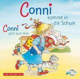 Conni kommt in die Schule / Conni geht zum Arzt, 1 Audio-CD
