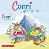 Conni geht zelten / Conni lernt reiten, 1 Audio-CD