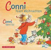 Conni feiert Weihnachten / Conni fährt Ski, 1 Audio-CD