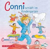 Meine Freundin Conni, Conni schläft im Kindergarten / Conni geht in den Zoo, Audio-CD