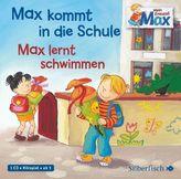 Max kommt in die Schule / Max lernt schwimmen, 1 Audio-CD