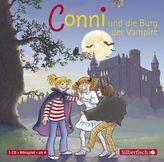 Meine Freundin Conni, Conni und die Burg der Vampire, 1 Audio-CD