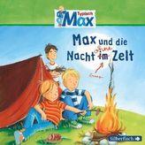 Typisch Max - Max und die Nacht ohne Zelt, 1 Audio-CD