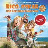Rico, Oskar und der Diebstahlstein - Das Filmhörspiel, 2 Audio-CDs