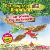 Das magische Baumhaus - Der geheime Flug des Leonardo, 1 Audio-CD