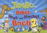 Jumbo-Bibel-Mal- und Knobelbuch. Bd.2