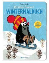Der kleine Maulwurf, Wintermalbuch