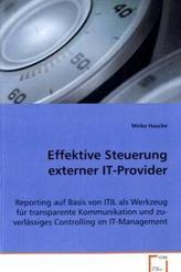Effektive Steuerung externer IT-Provider