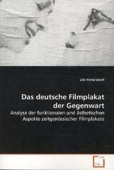 Das deutsche Filmplakat der Gegenwart