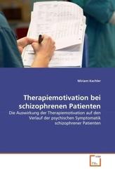 Therapiemotivation bei schizophrenen Patienten