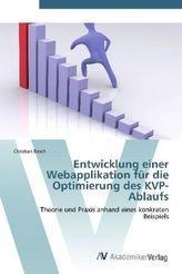 Entwicklung einer Webapplikation für die Optimierung des KVP-Ablaufs