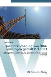 Qualitätssicherung von ÖBA-Leistungen gemäß ISO 9001