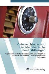 Österreichische und Liechtensteinische Privatstiftungen