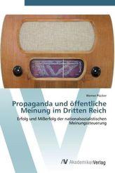 Propaganda und öffentliche Meinung im Dritten Reich