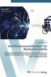 Verifikationsmethoden für Batteriemodelle