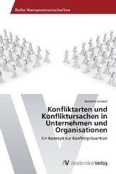 Konfliktarten und Konfliktursachen in Unternehmen und Organisatioen