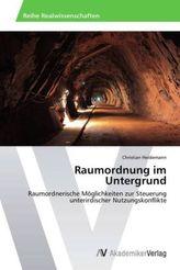 Raumordnung im Untergrund