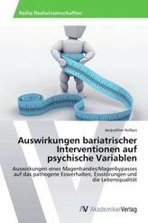 Auswirkungen bariatrischer Interventionen auf psychische Variablen