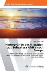 Hintergründe der Migration aus Subsahara Afrika nach Europa