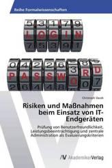 Risiken und Maßnahmen beim Einsatz von IT-Endgeräten