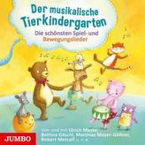 Der musikalische Tierkindergarten, 1 Audio-CD
