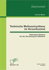Technische Methanolsynthese im Versuchsstand
