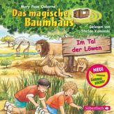 Das magische Baumhaus - Im Tal der Löwen, 1 Audio-CD