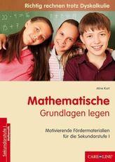 Mathematische Grundlagen legen
