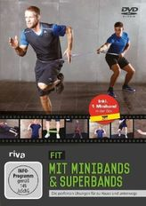 Fit mit Minibands & Superbands, DVD + Miniband