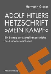 Adolf Hitlers Hetzschrift 'Mein Kampf'