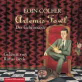 Artemis Fowl - Der Geheimcode, 5 Audio-CDs