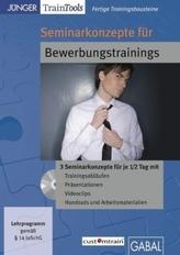 Seminarkonzepte für Bewerbungstrainings, 1 CD-ROM