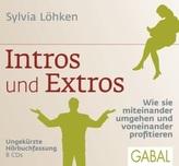 Intros und Extros, 8 Audio-CDs