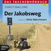 Der Jakobsweg, 4 Audio-CDs