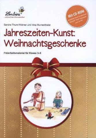 Jahreszeiten-Kunst: Weihnachtsgeschenke, m. CD-ROM