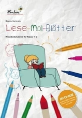 Lese-Mal-Blätter, m. CD-ROM