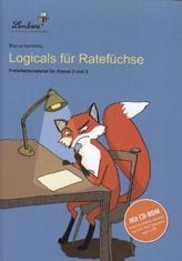 Logicals für Ratefüchse, m. CD-ROM
