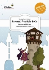 Rapunzel, Frau Holle & Co. - Lesetexte Märchen, Set mit CD-ROM