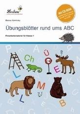 Übungsblätter rund ums ABC, Set mit CD-ROM
