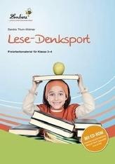 Lese-Denksport, Set mit CD-ROM