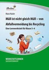 Müll ist nicht gleich Müll - von Abfallvermeidung bis zu Recycling